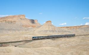 Amtrak through Utah